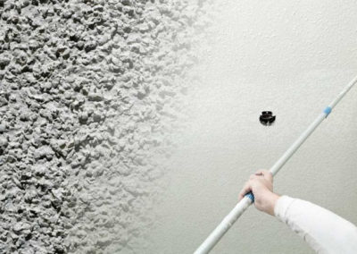 Popcorn Ceiling Removal West Palm Beach. Painting service and wall & ceiling replaster.